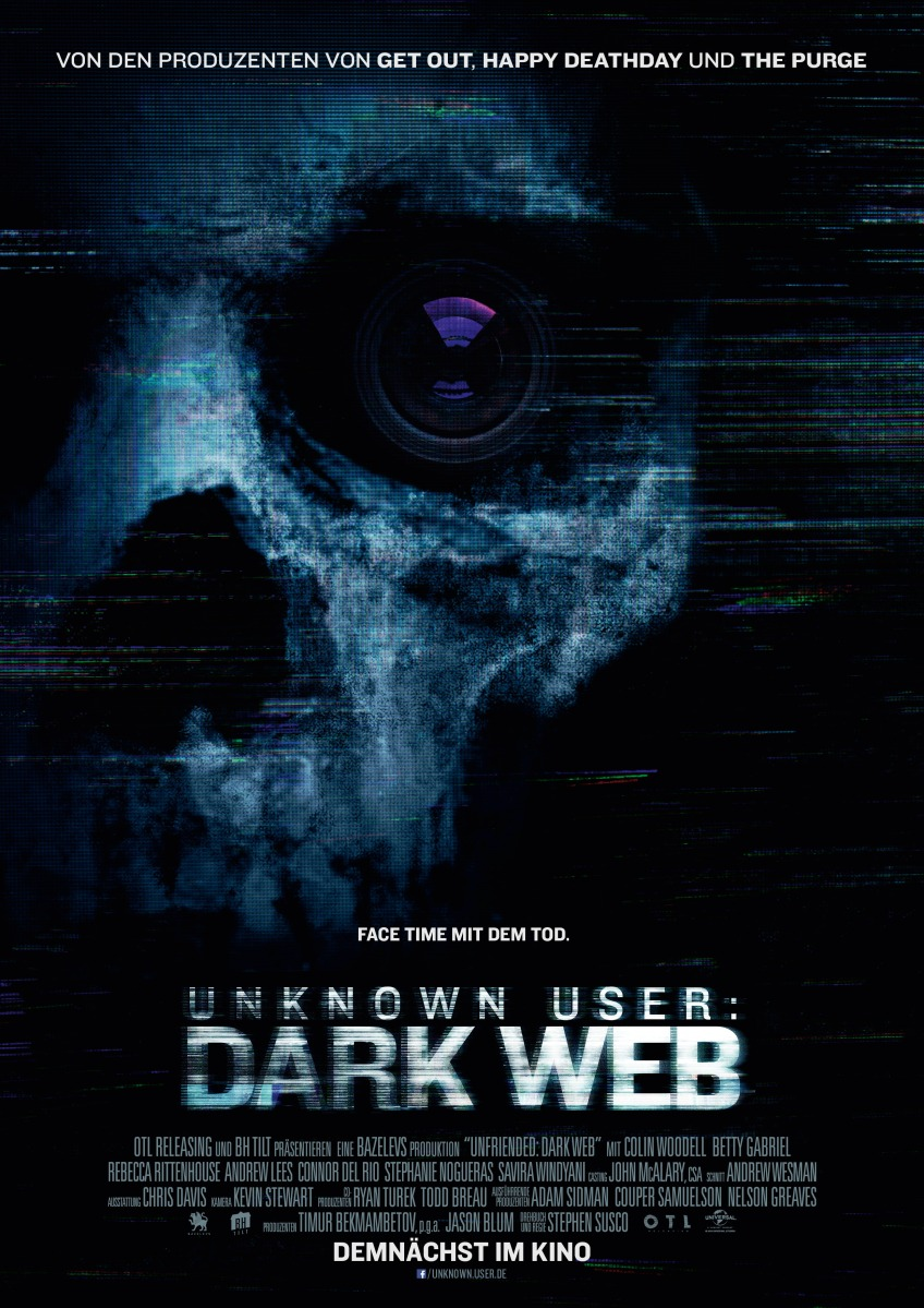 Unknown User: Dark Web – Review