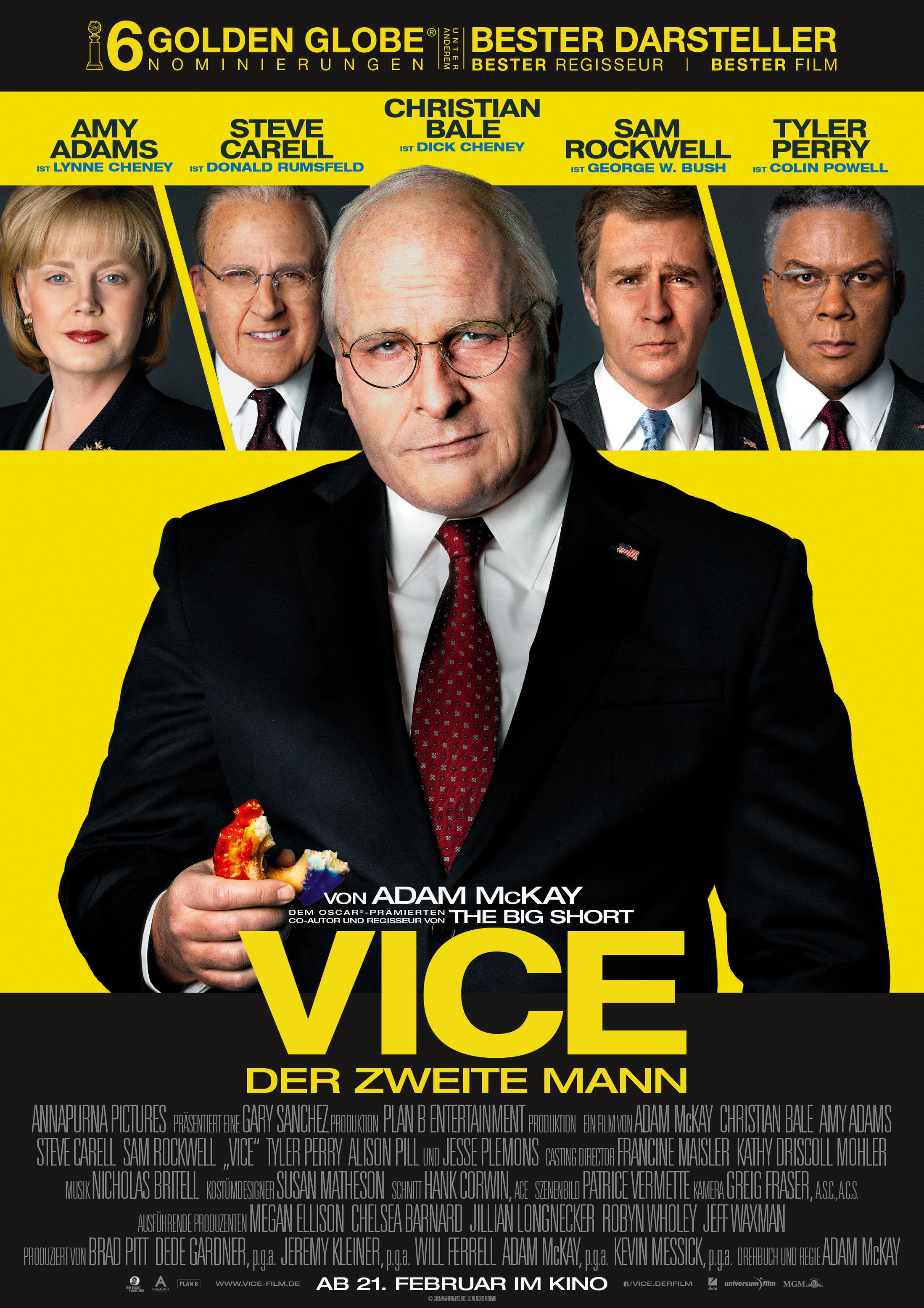 Vice (Der zweite Mann) – Review